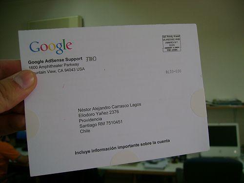 como receber do google adsense